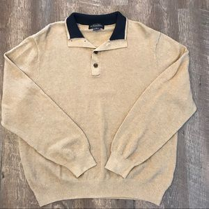 Brooks Brothers 1/4 Button Sweater